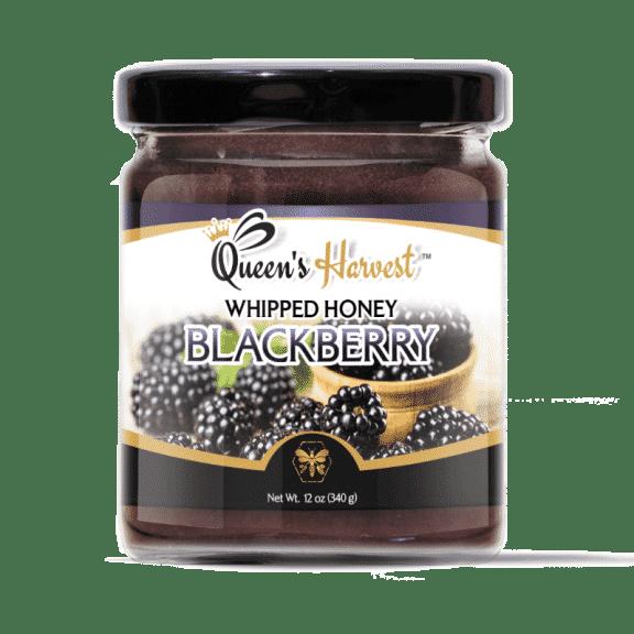 Blackberry Whipped Honey