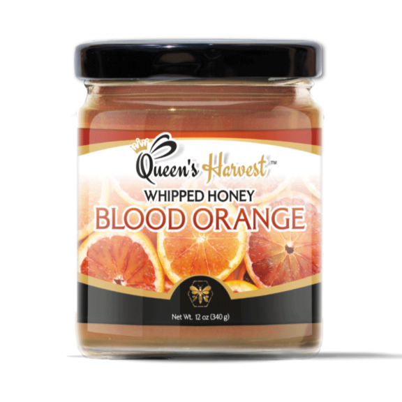 Gourmet Blood Orange Whipped Honey