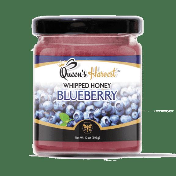 Gourmet Blueberry Whipped Honey
