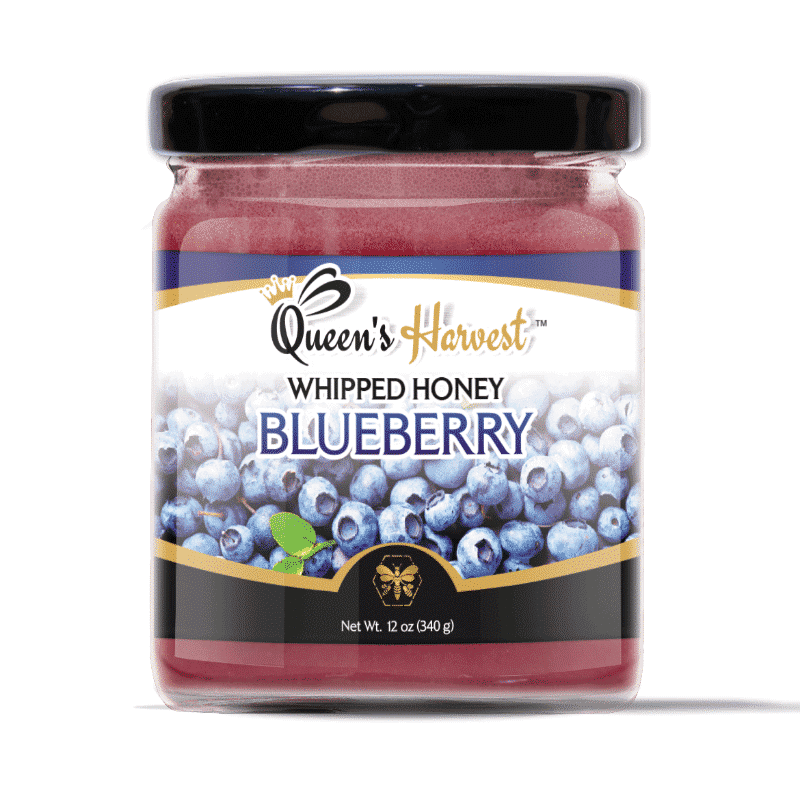 Gourmet Blueberry Whipped Honey