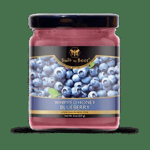 Gourmet Blueberry Whipped Honey 8 oz