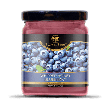 Gourmet Blueberry Whipped Honey 8 oz