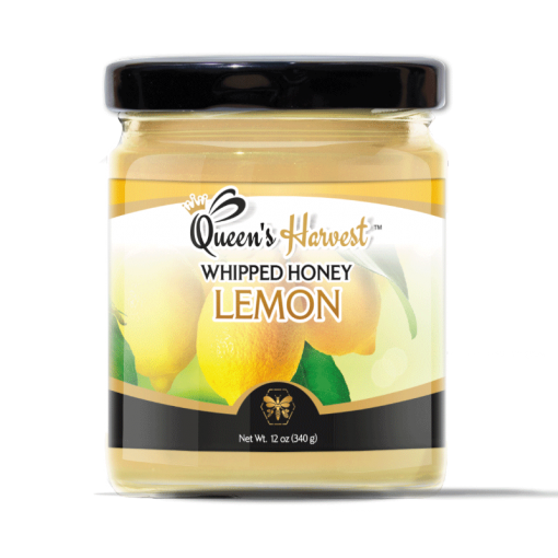 Gourmet Organic Lemon Whipped Honey