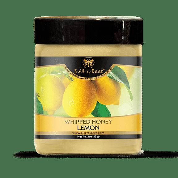 Gourmet Organic Lemon Whipped Honey 3 oz