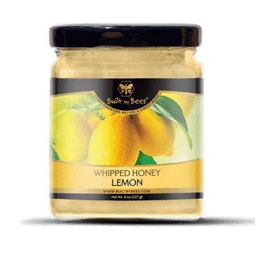 Gourmet Lemon Whipped Honey 8 oz