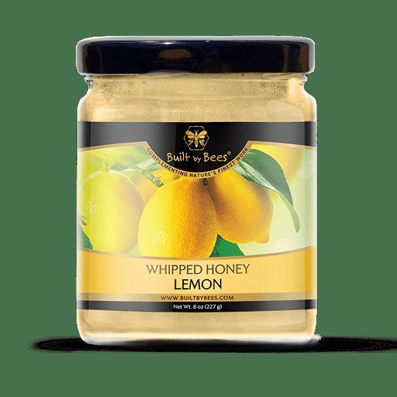 Gourmet Lemon Whipped Honey 8 oz