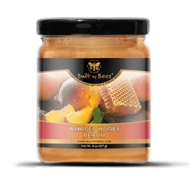 Gourmet Peach Whipped Honey 3 oz