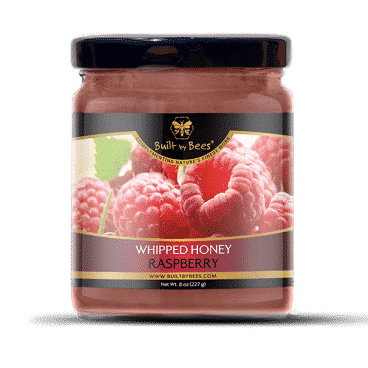 Raspberry Whipped Honey 8 oz