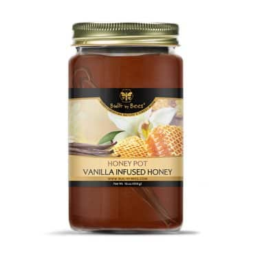 Award Winning Vanilla Infused Honey Pot