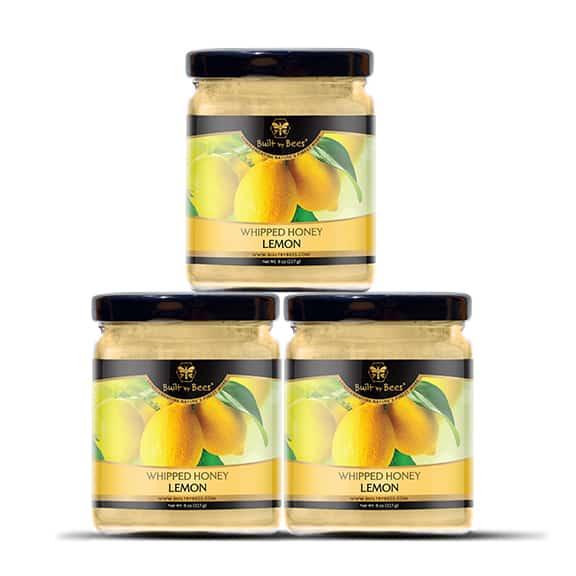 Lemon Whipped Honey 3 Pack