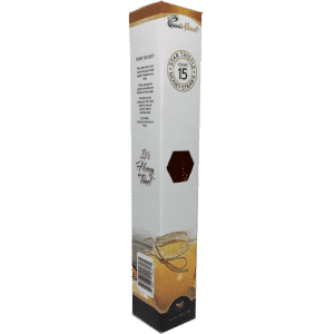Gourmet Raw Honey Straws 15 Count