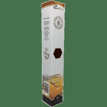 Gourmet Raw Honey Straws 15 Count