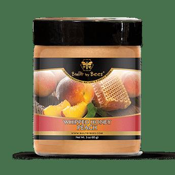 Peach Whipped Honey 3 oz