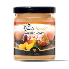 Gourmet Peach Whipped Honey