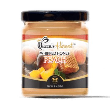 Gourmet Peach Whipped Honey