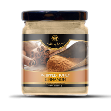 Gourmet Cinnamon Whipped Honey