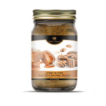 Salted Caramel Pecan Honey Butter