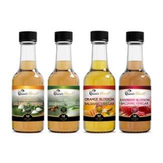 Award Winning Honey Balsamic Vinegars in a Four Pack