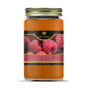 Raspberry Blossom Raw Honey