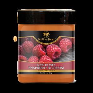 Raspberry Blossom Raw Honey 3 oz
