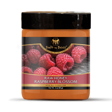 Raspberry Blossom Raw Honey 3 oz