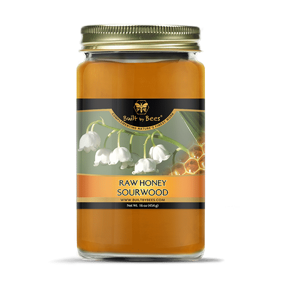 Raw Sourwood Honey 16 oz