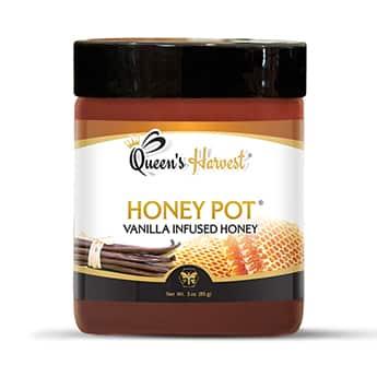 Vanilla Infused Honey 3 oz