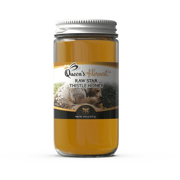 Raw Star Thistle Honey