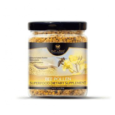 Raw Bee Pollen 3.5 Oz.