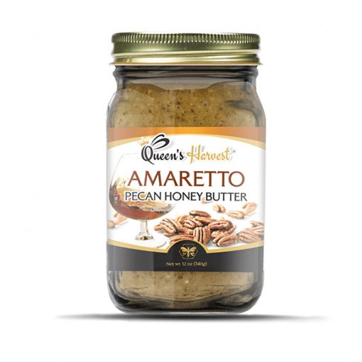 Amaretto Pecan Honey Butter 576x576