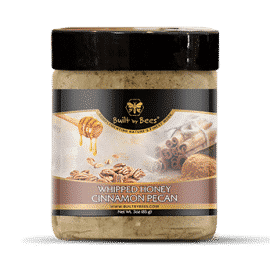 Cinnamon Pecan Whipped Honey