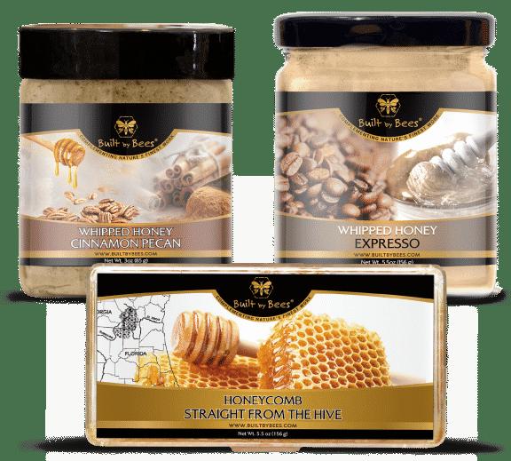 Savory Honeys Honeycomb Bundle