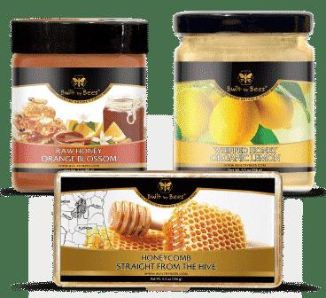 Citrus Honeys and Honeycomb Bundle