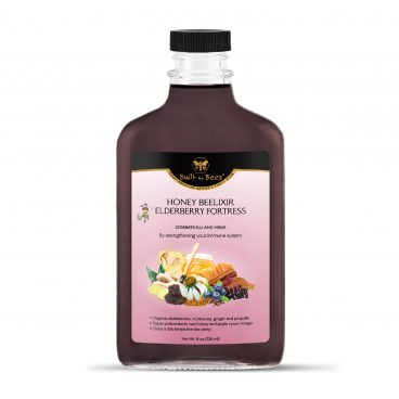 Elderberry Fortress Beelixir 8 oz