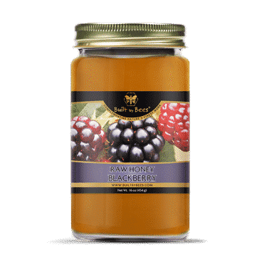 Raw Blackberry Blossom Honey 16oz