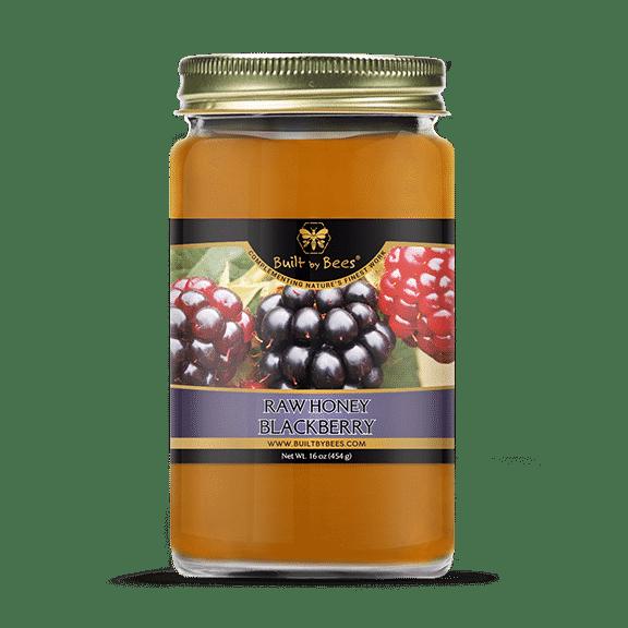 Raw Blackberry Blossom Honey 16oz