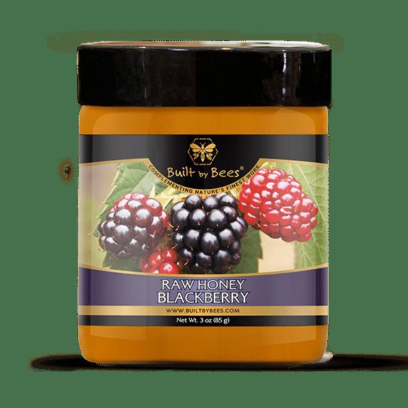 Raw Blackberry Blossom Honey 3oz