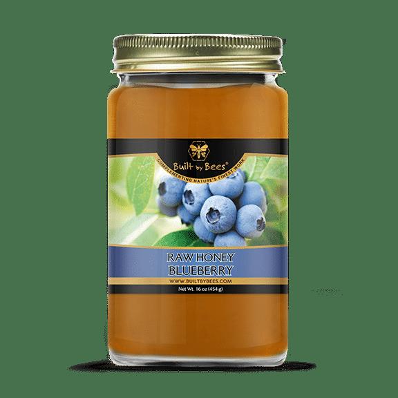 Raw Blueberry Blossom Honey 16 oz