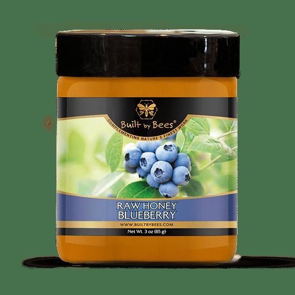 Raw Blueberry Blossom Honey 3 oz