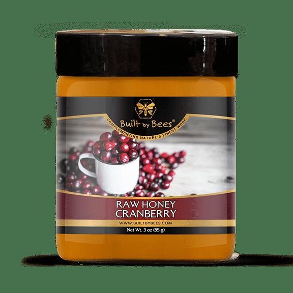 Raw Cranberry Blossom Honey 3 oz