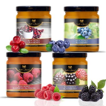 Raw Berry Honey Bundle
