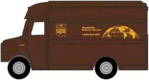 UPS Brown Truck