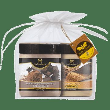 Cinnamon Whipped Honey & Dark Choc Pecan