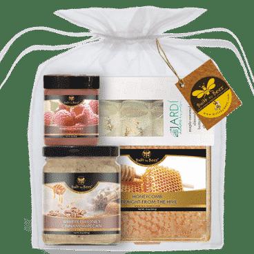 Cinnamon Pecan Honey with Chocolate and Raspberry