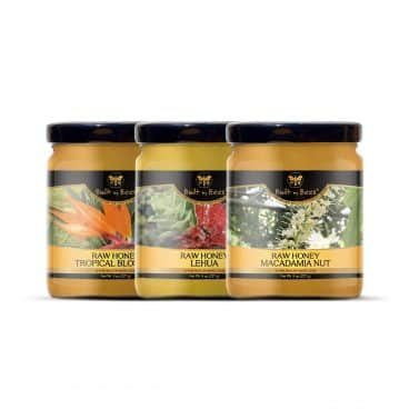 Hawaiian Three Pack Honey Bundle